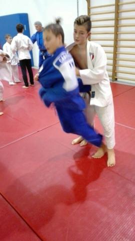 Jumi session for judoka at Judo San club, Trento